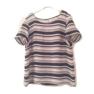 Striped top XL